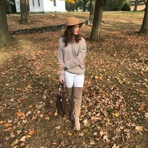 Sweaters - Lace back sweater